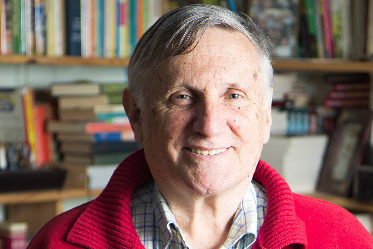 Australian writer, teacher and school principal John Marsden, the author of the award-winning book Tomorrow, When the War Began, a book Chilliwack school Trustee Heather Maahs suggested should not be in schools because of sexual content. (Pan Macmillan Australia)