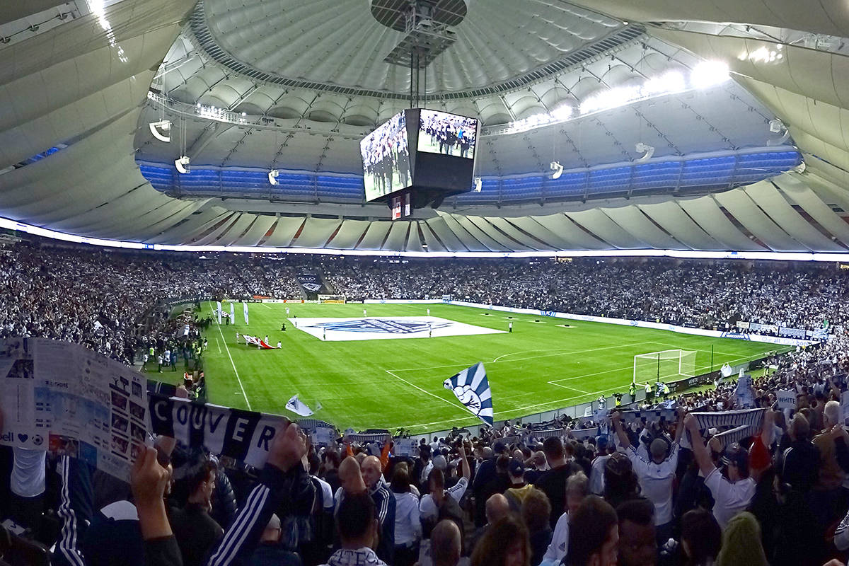 Vancouver Whitecaps fans staged a walkout during the team's Major League Soccer game Wednesday night. (Wikimedia Commons photo)