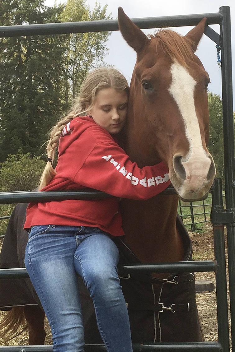 Langley Equestrian Academy student Sheridan Jonker. Contributed photo