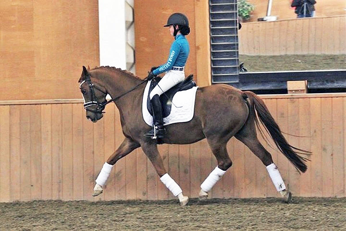 Langley Equestrian Academy student Sophia Rokstad. Contributed photo