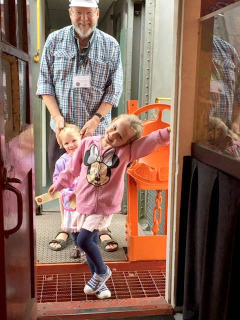 Volunteer fair puts Fort Langley CNR Station on display