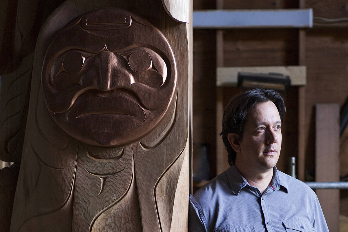 Indigenous artist Carey Newman is a witness to our times
