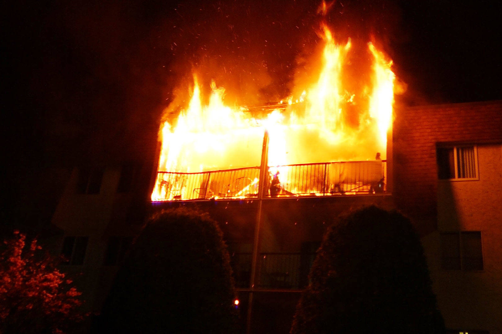 Four units damaged in Abbotsford apartment fire