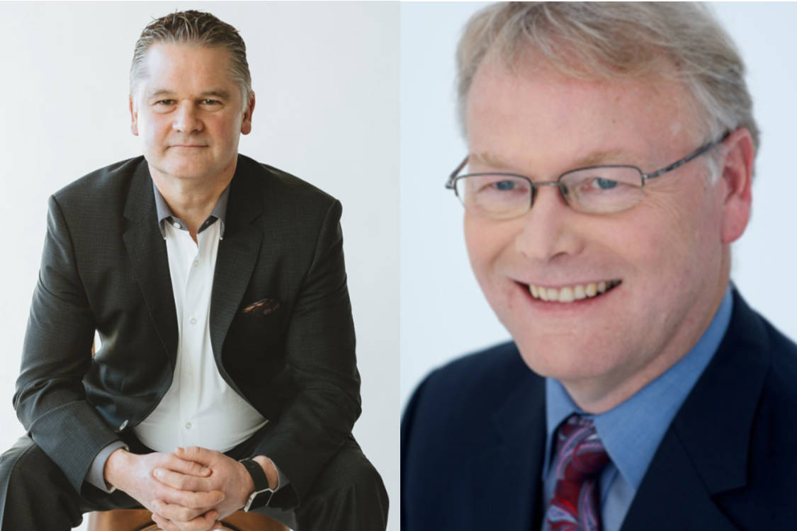 John Lawson (left) and Jeff Hector (right) from Assante Wealth Management have opened Surrey's first Family Office.
