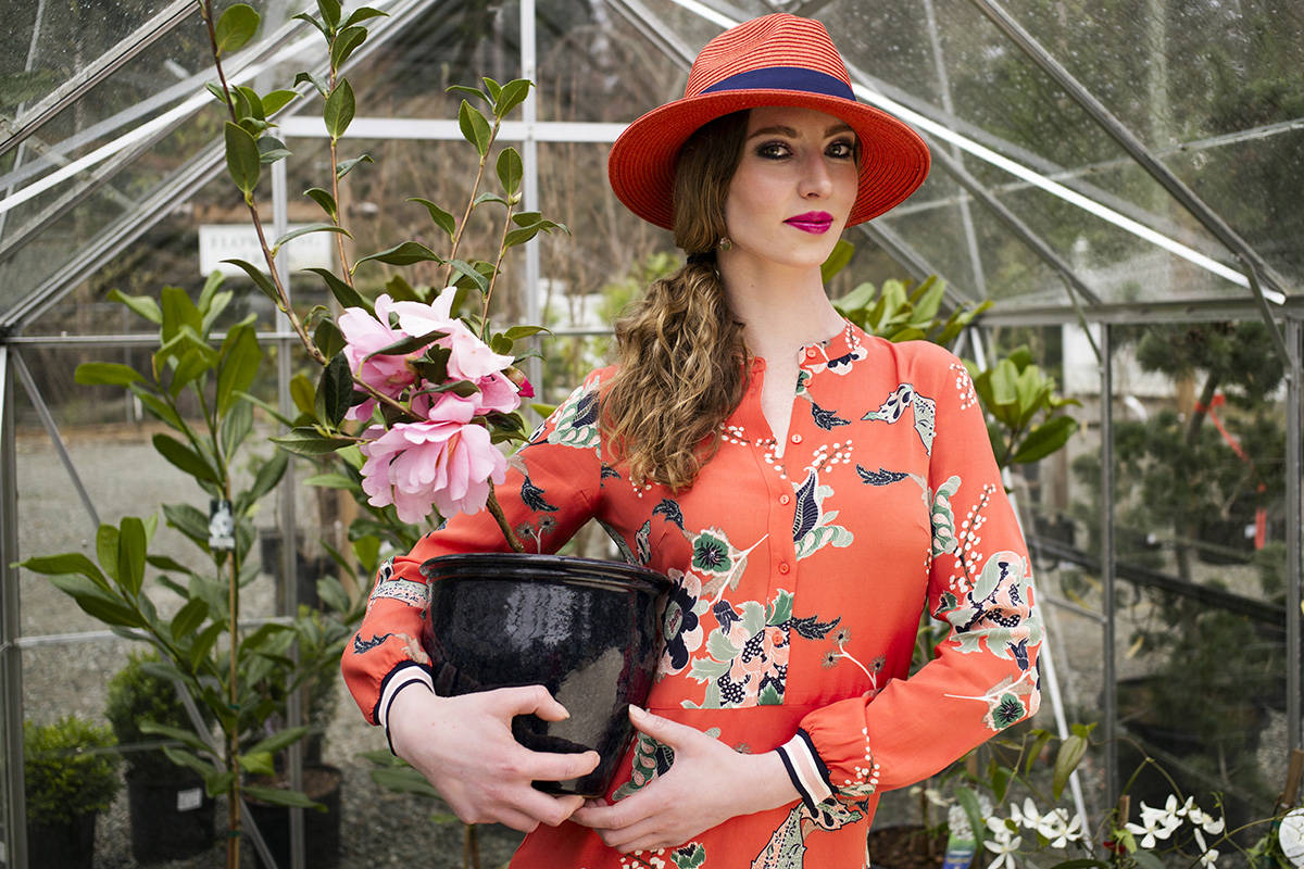 Bold blooms for spring fashion