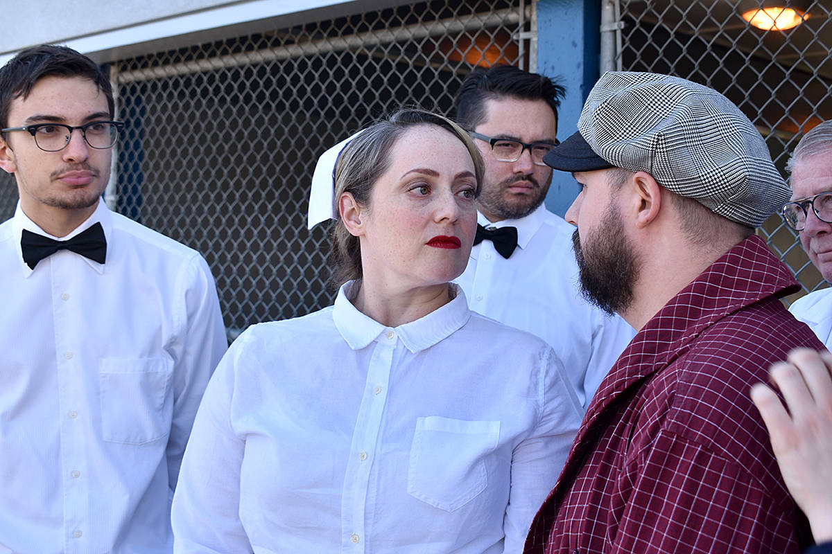 Stage 43's production of One Flew Over the Cuckoo's Nest runs in Coquitlam from May 2 to 11, and features a Langley actor. (Aaron Davis/Stage 43 Theatrical Society)