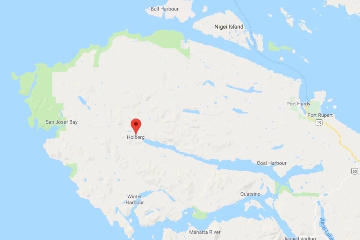Holberg, B.C. (Google Maps)