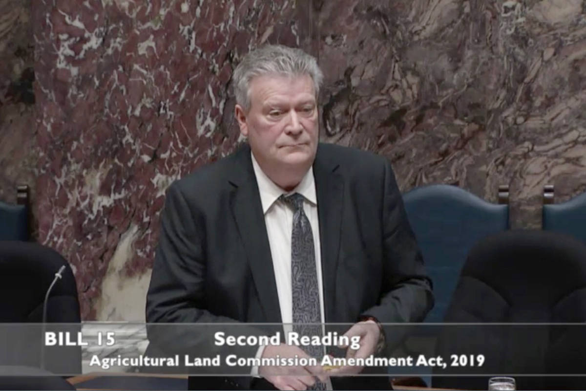 Langley East MLA Rich Coleman has apologized for comments he made in the B.C. Legislature Thursday.