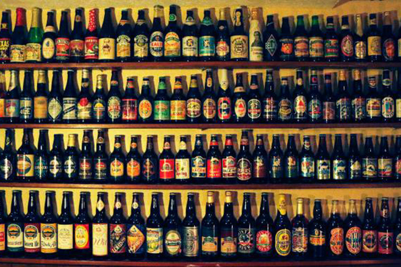 Dave Preston is selling a collection of 600 bottles of beer from around the world (File contributed/ Dave Preston)