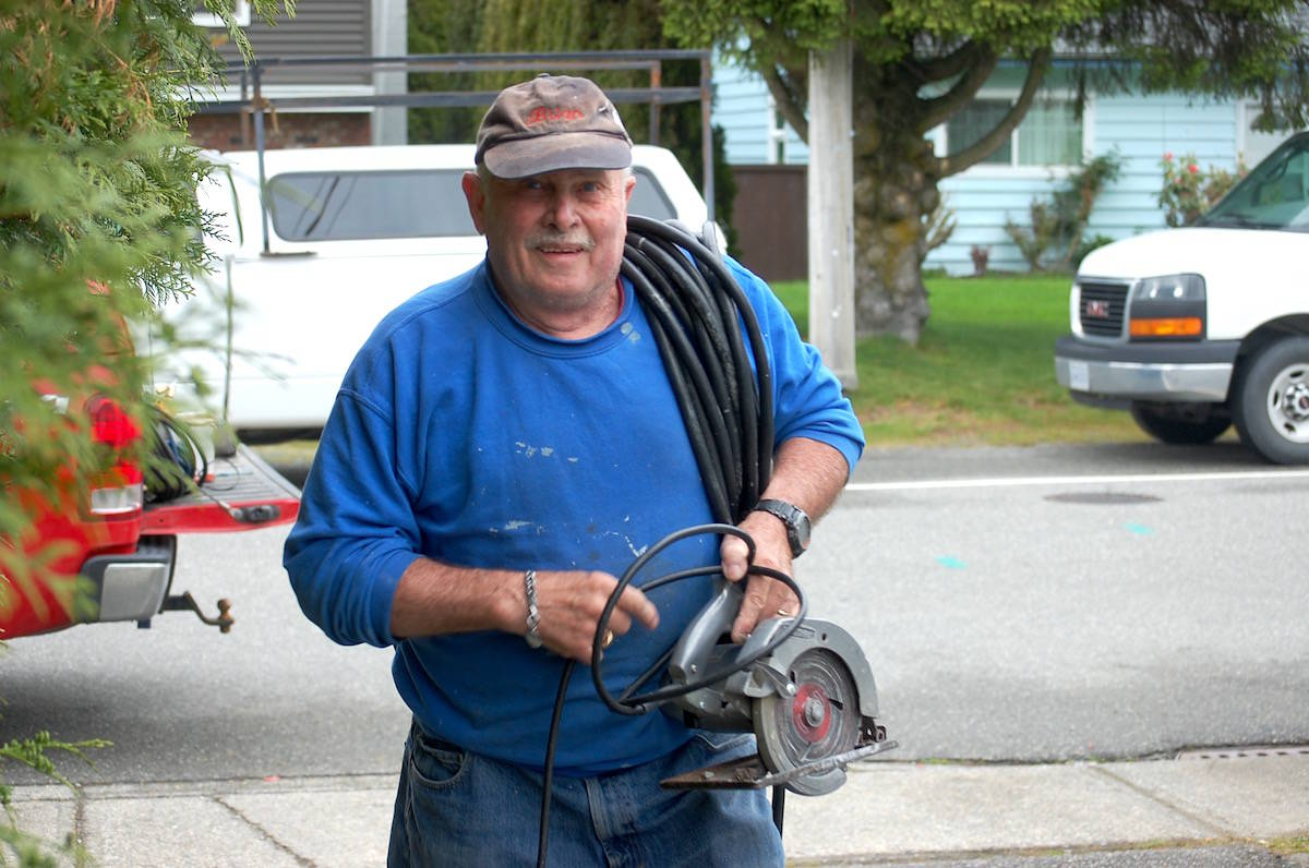 PHOTOS: 'Extreme Home Repair' kicks off in Aldergrove for deserving family