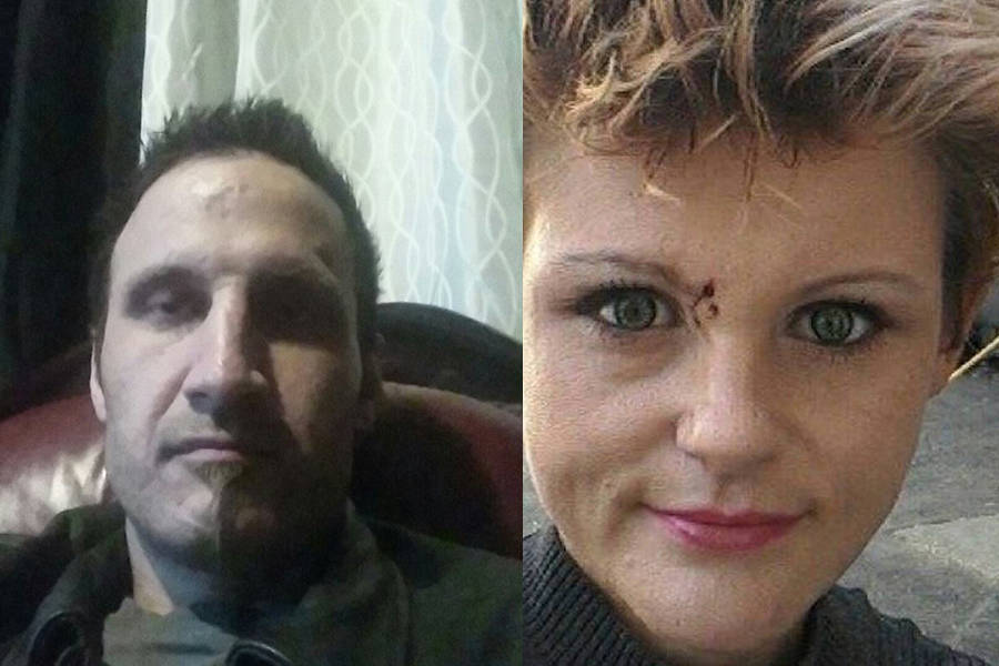 """Anthony Cortez and Danielle """"Deedee"""" Charlton are seen in these undated Facebook images. Cortez faces numerous charges after allegedly crashing a stolen vehicle near Hope on Sept. 11, 2017, a crash that killed Charlton."""