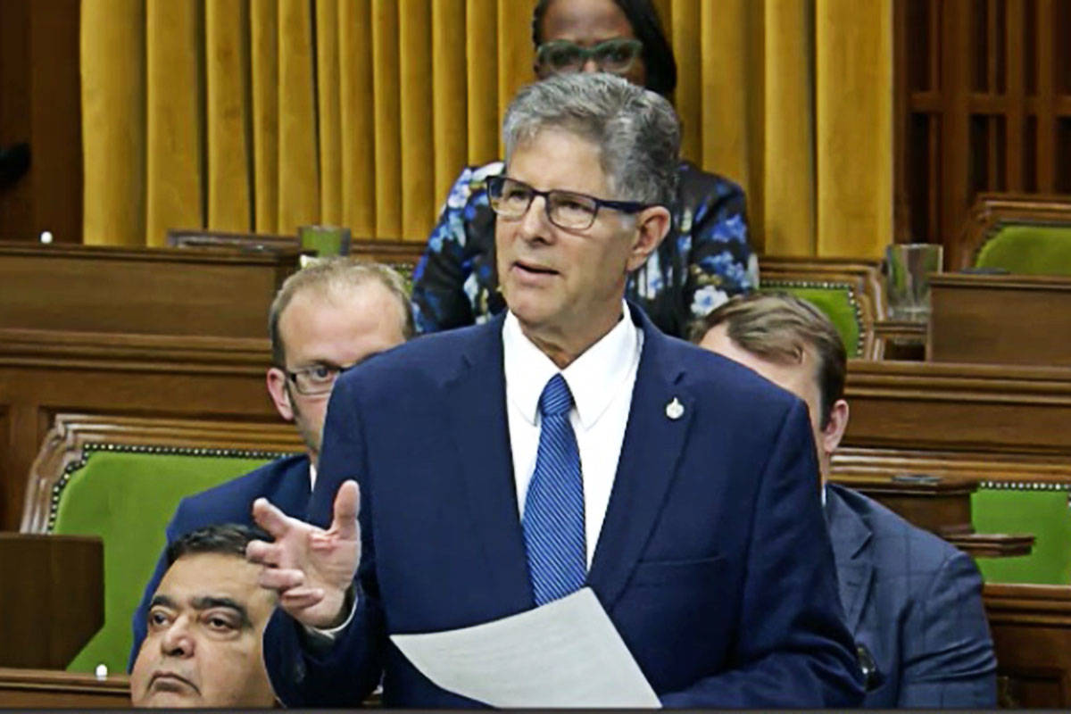 Mark Warawa spoke to the House of Commons on Tuesday, giving his farewell speech.