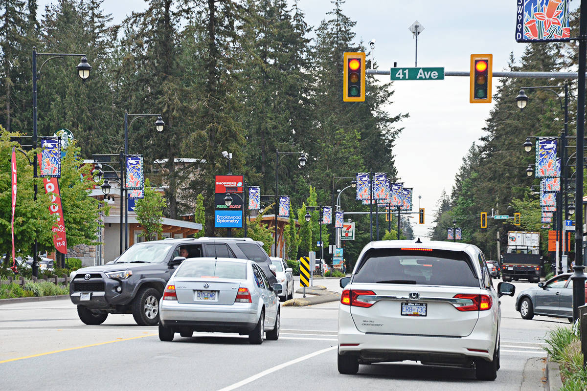 New road planned for downtown Brookswood