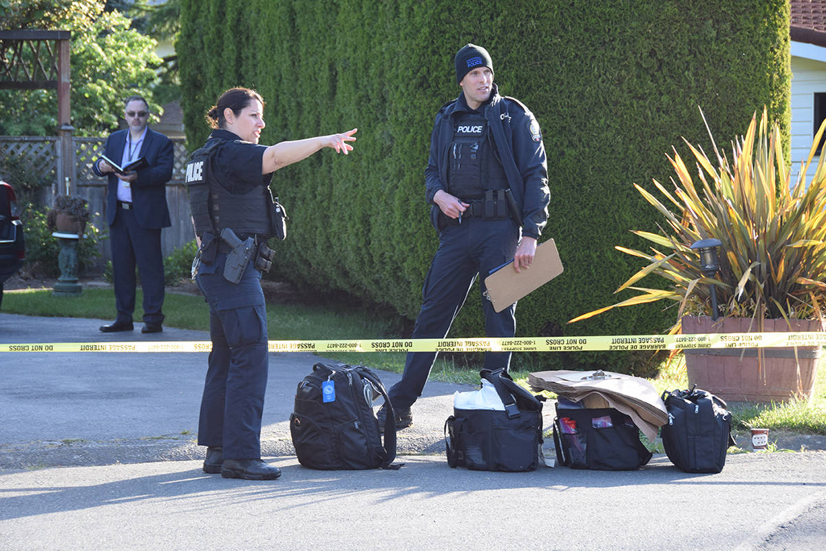 One dead, two in serious condition after 'violent struggle' at Vancouver Island home