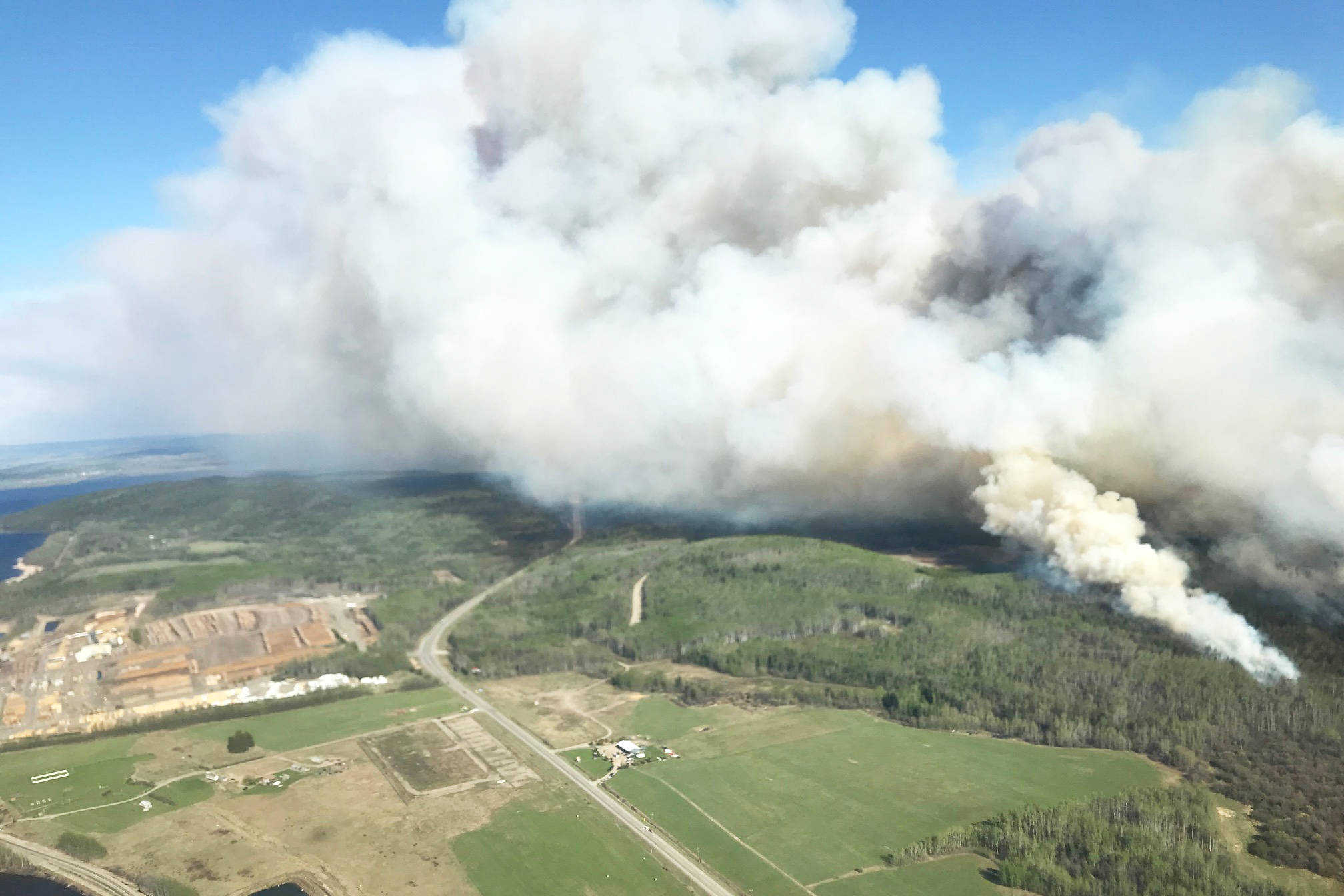 Update: Active wildfire raging in Lejac near Fraser Lake not contained yet
