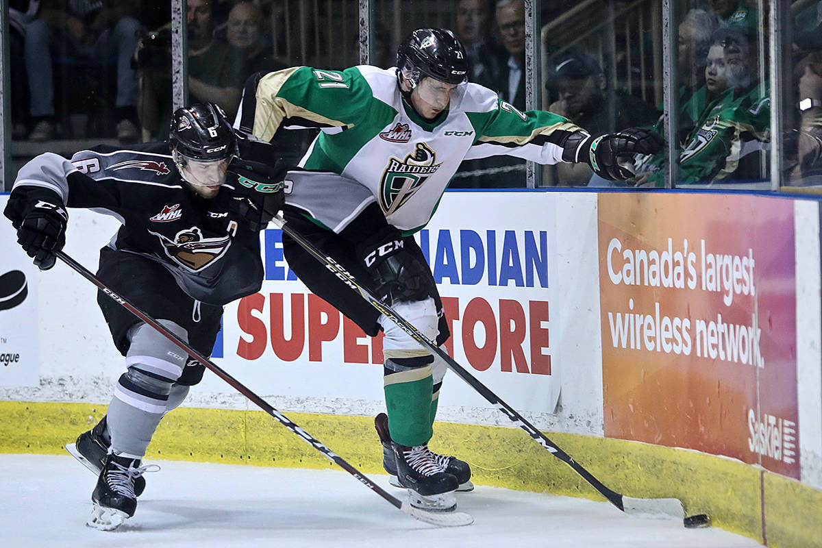 VIDEO: Giants force Game 7 with 4-2 win Sunday in Prince Albert