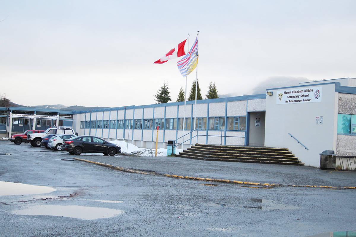 Mount Elizabeth Middle Secondary School. Photo Gerry Leibel
