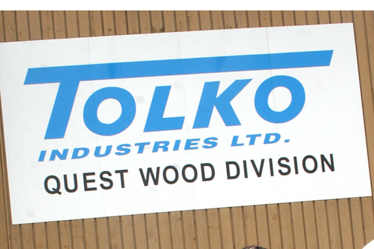 150 workers laid off with Tolko mill closure in Quesnel
