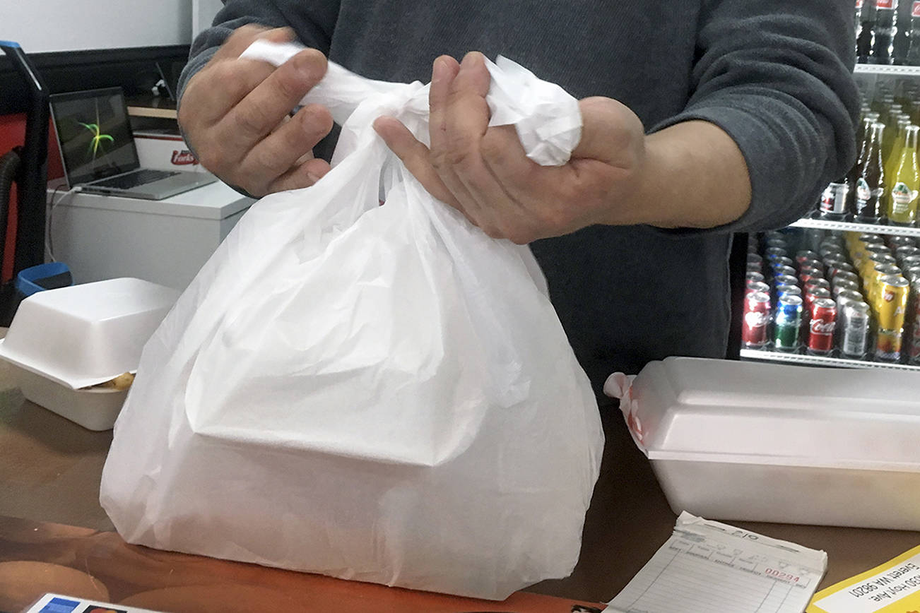 The Canadian Plastic Bag Association is taking the City of Victoria to court once again (File photo)