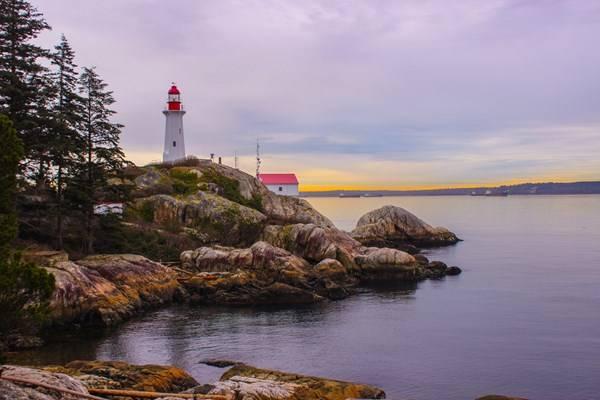 Lighthouse Park, BC by Brendan Johnson
