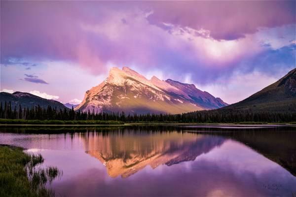 Banff, Alberta by Lynelle Schroeder