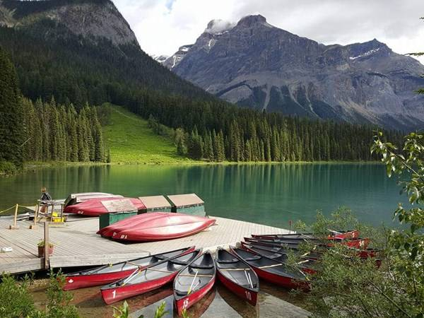 Emerald Lake, BC Photo by Kristy Trimmer