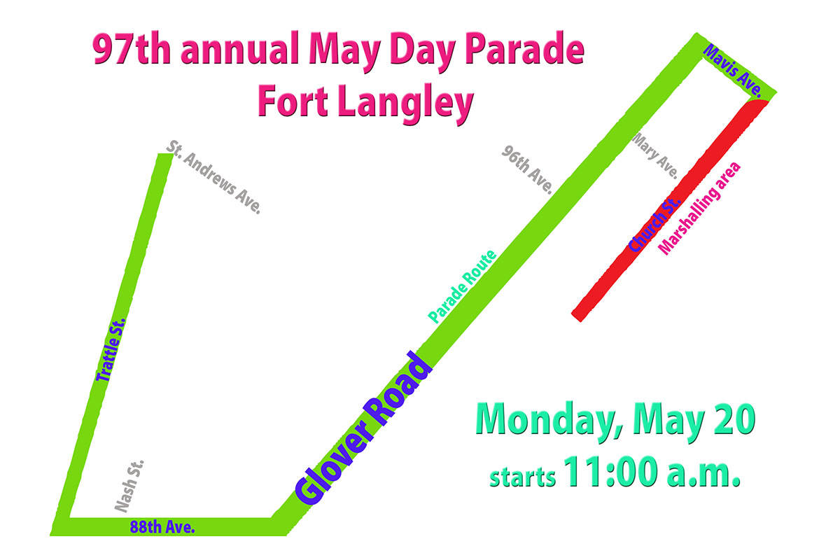 Village set to host 97th May Day parade – Langley Advance Times