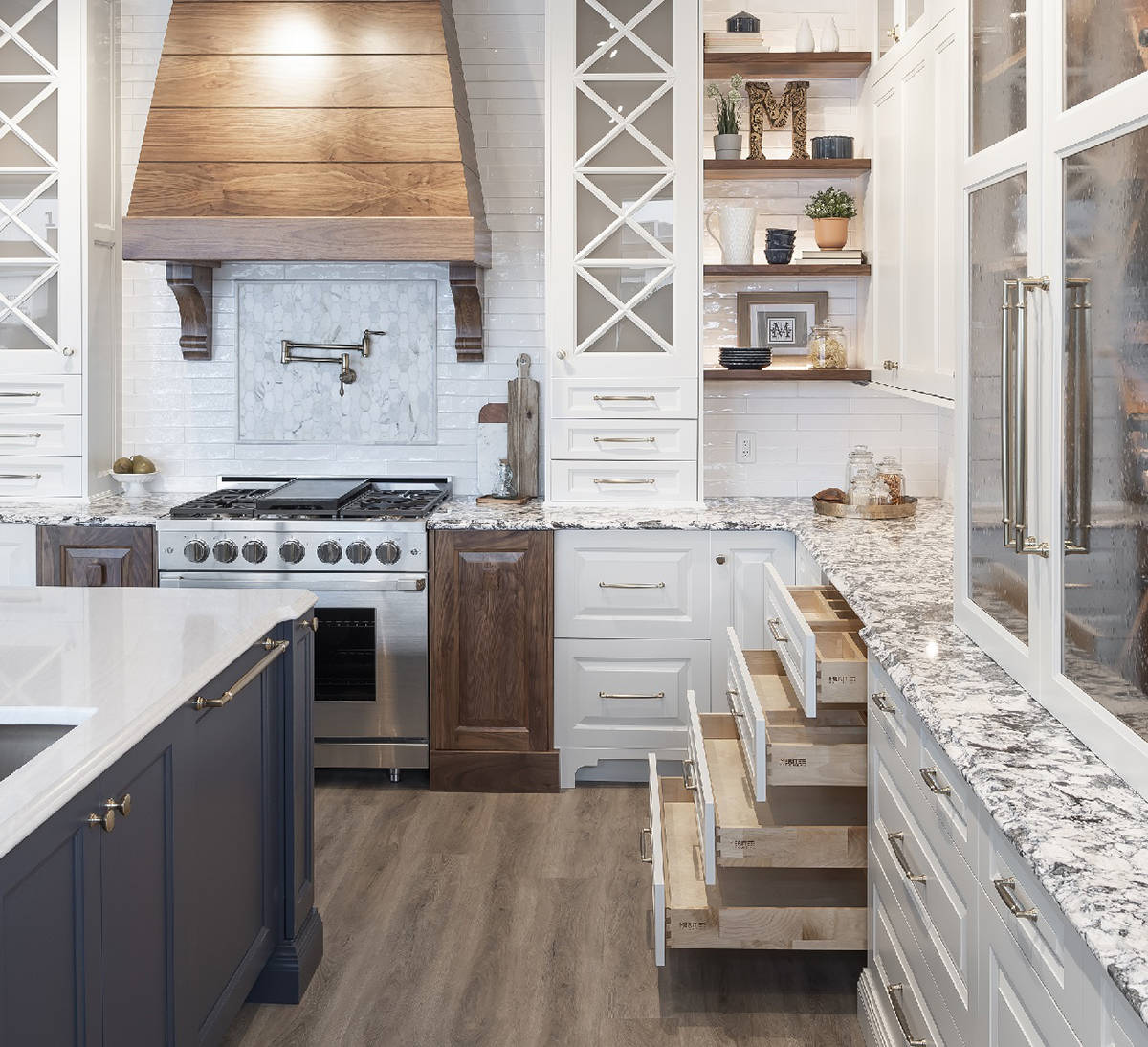 Merit Kitchens' new Langley Design Centre offers homeowners a large, modern facility filled with a variety of kitchen styles and layouts.