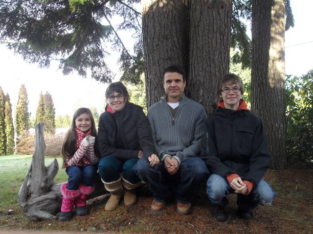 Chloë Koncek, Fleure Koncek, Petr Koncek and Dominick Koncek often spent time outdoors together hiking, fishing or taking their dogs on a walk. (Contributed photo)