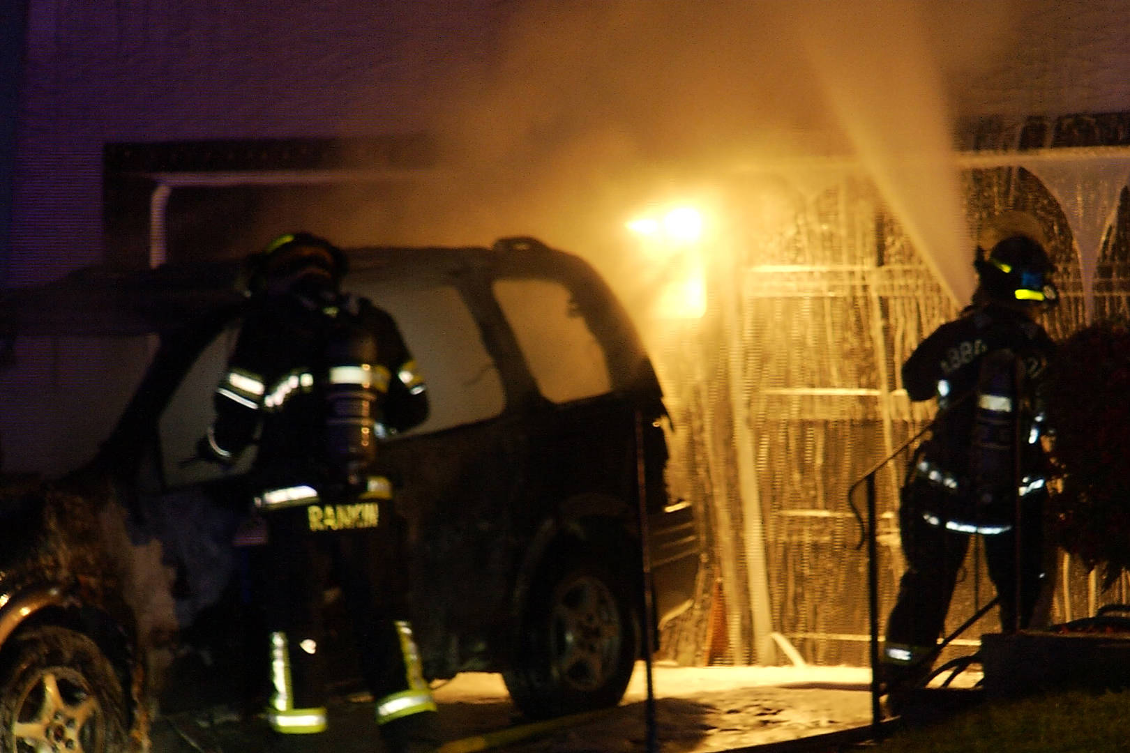 VIDEO: Suspected arson sends five to Abbotsford hospital with smoke inhalation