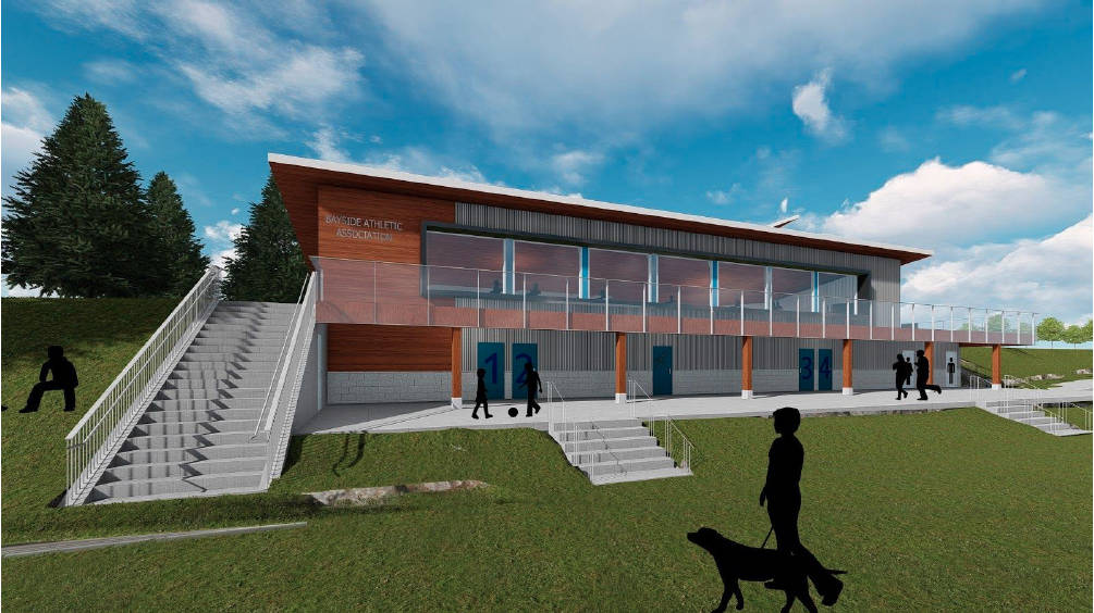 Working with the city on the project, the fieldhouse will provide Bayside Athletic Association players of all ages with a home and add valuable amenities for the community.