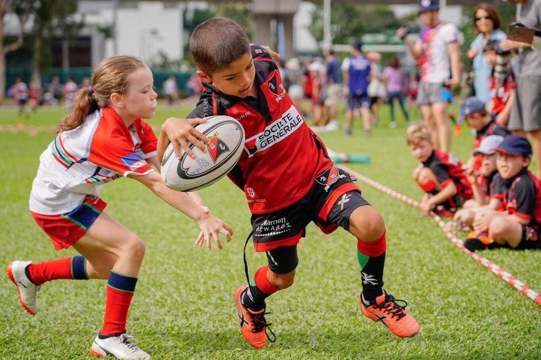 The Bayside Athletic Association's Community Fieldhouse Lottery kicked off at Sunday's mini-rugby jamboree, and will help Bayside reach its fundraising goals for the planned fieldhouse at South Surrey Athletic Park.