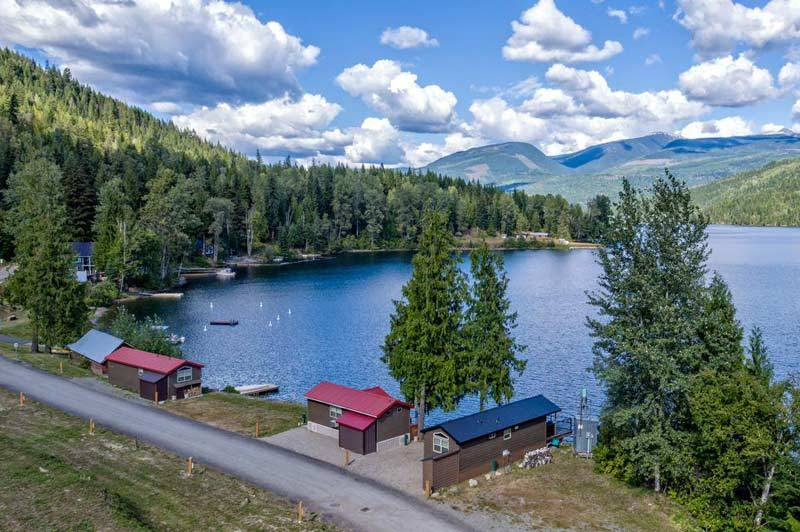 Located just an hour east of Vernon, Sugar Lake Recreational development boasts 45 fully serviced RV lots, 20 cabin sites and a variety of on-site amenities – your ideal destination for four-season adventures.