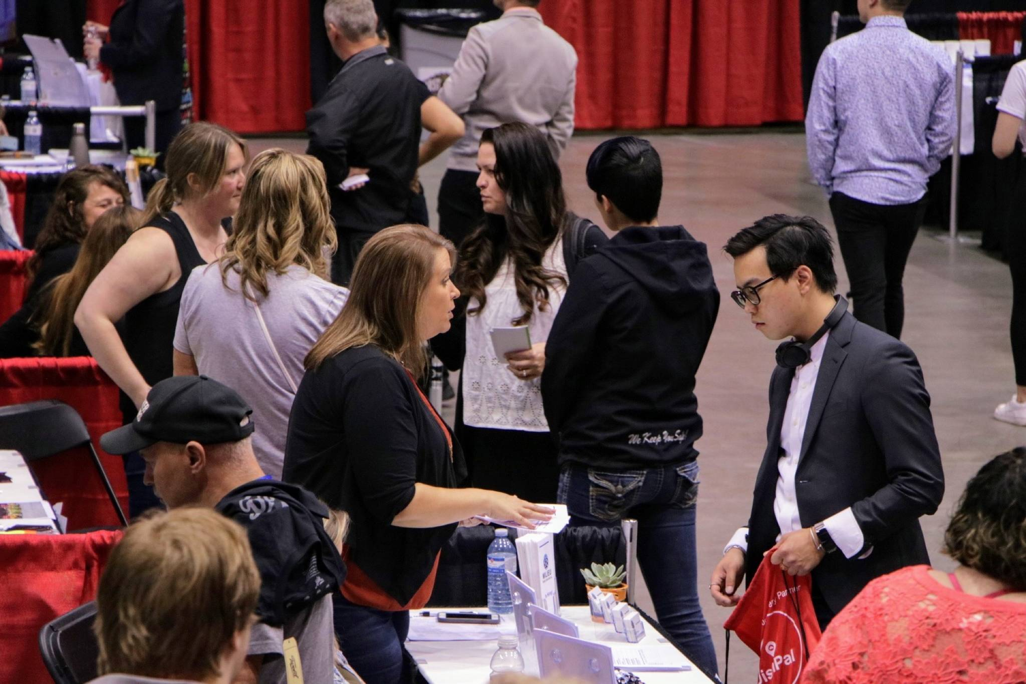 Stop by the Abbotsford Centre today between 11 a.m. and 3 p.m. to find your dream career (Photo by Dustin Godfrey/Black Press Media).