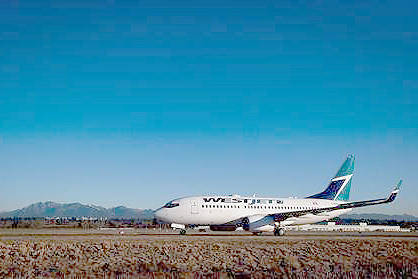 'Unruly' passenger causes security breach, damages B.C.-bound WestJet plane