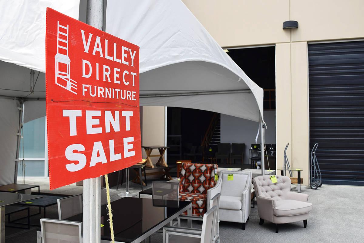 Quality home furnishings meet huge savings in annual Tent Sale!