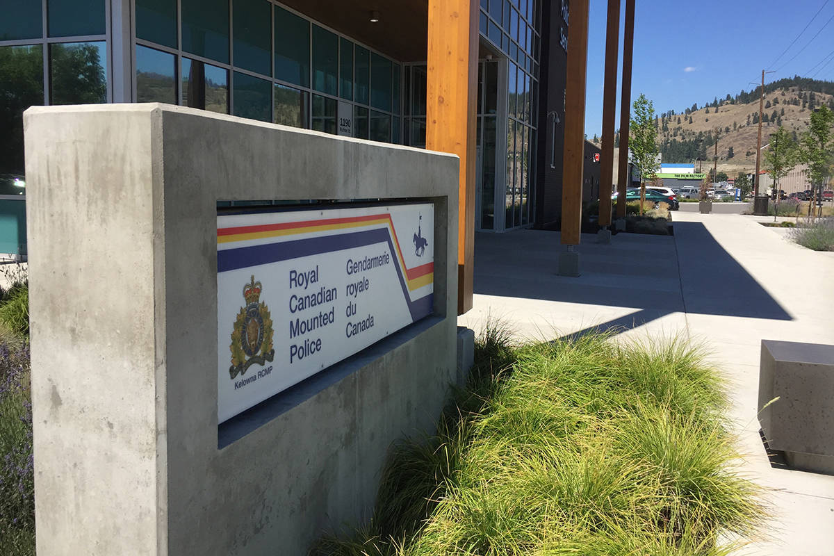 Kelowna RCMP building on Richter Street (Photo by Steven Lin)
