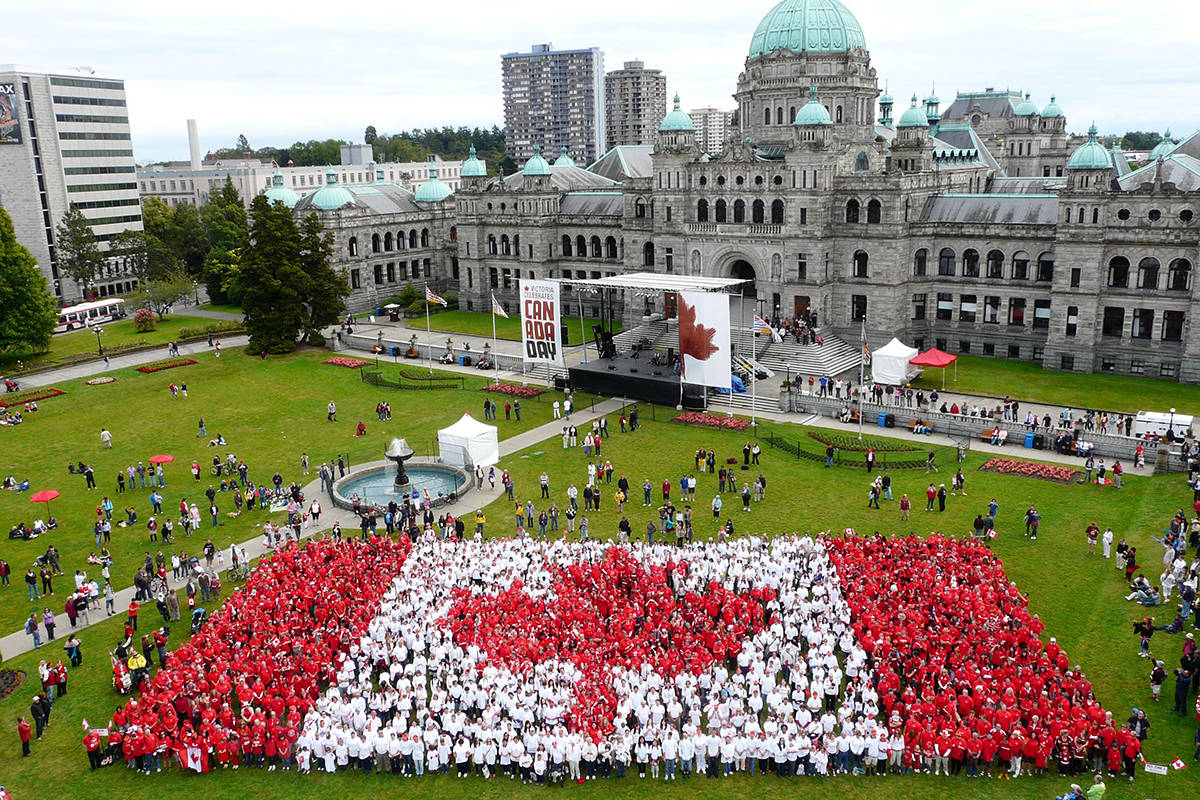 Canada Day is the largest event the City of Victoria sees (File Contributed/Ken Kelly, DVBA)