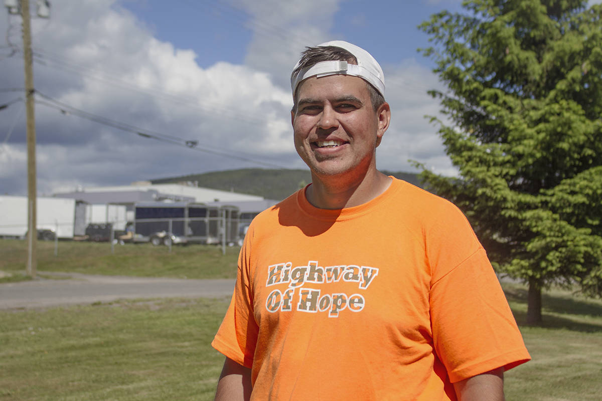 Man runs B.C.'s Highway of Tears to spread message of hope