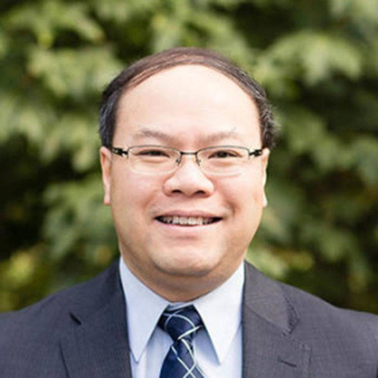 Trinity Western's Dr. Herbert H. Tsang, PhD, PEng, receives recognition from Canadian Network of Innovation in Education. (Caroline Coons/Special to the Langley Advance Times).
