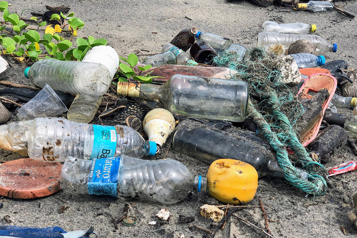 Plastics pollution in the ocean is of particular concern to Canada, which has the longest shoreline in the world, according to a press release Monday. (John Cameron / Unsplash)