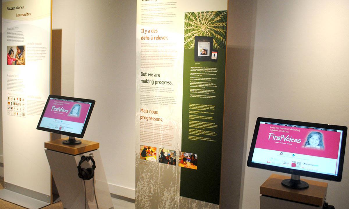 Museum explores Langley's living languages
