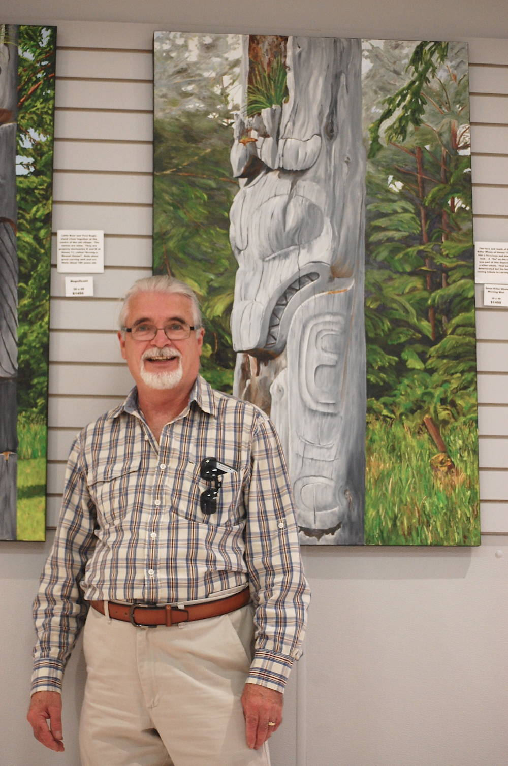 Langley Art Council's newest exhibit examines 'invasive species'