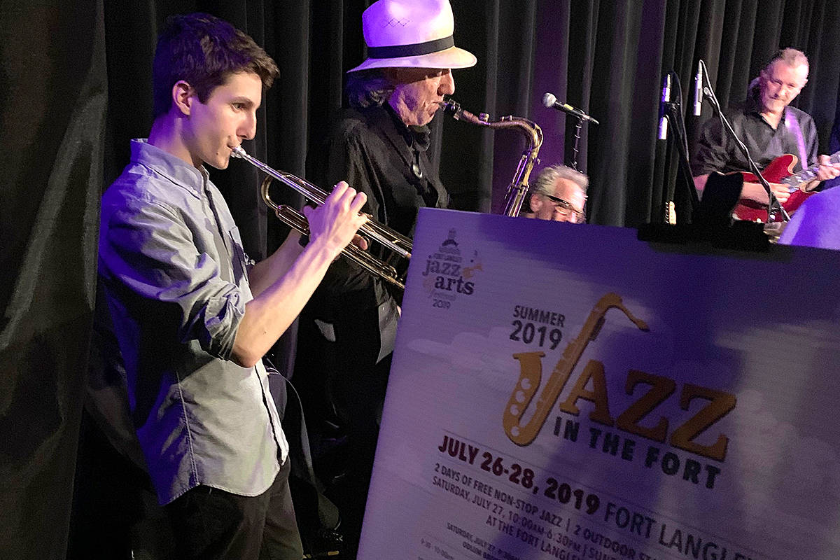 VIDEO: Fort Langley swingin' to sounds of jazz this summer