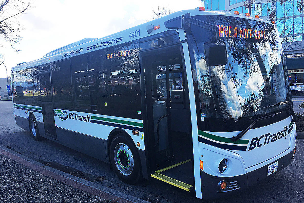 Free transit will be offered to Victoria youth this fall (Black Press File Photo)