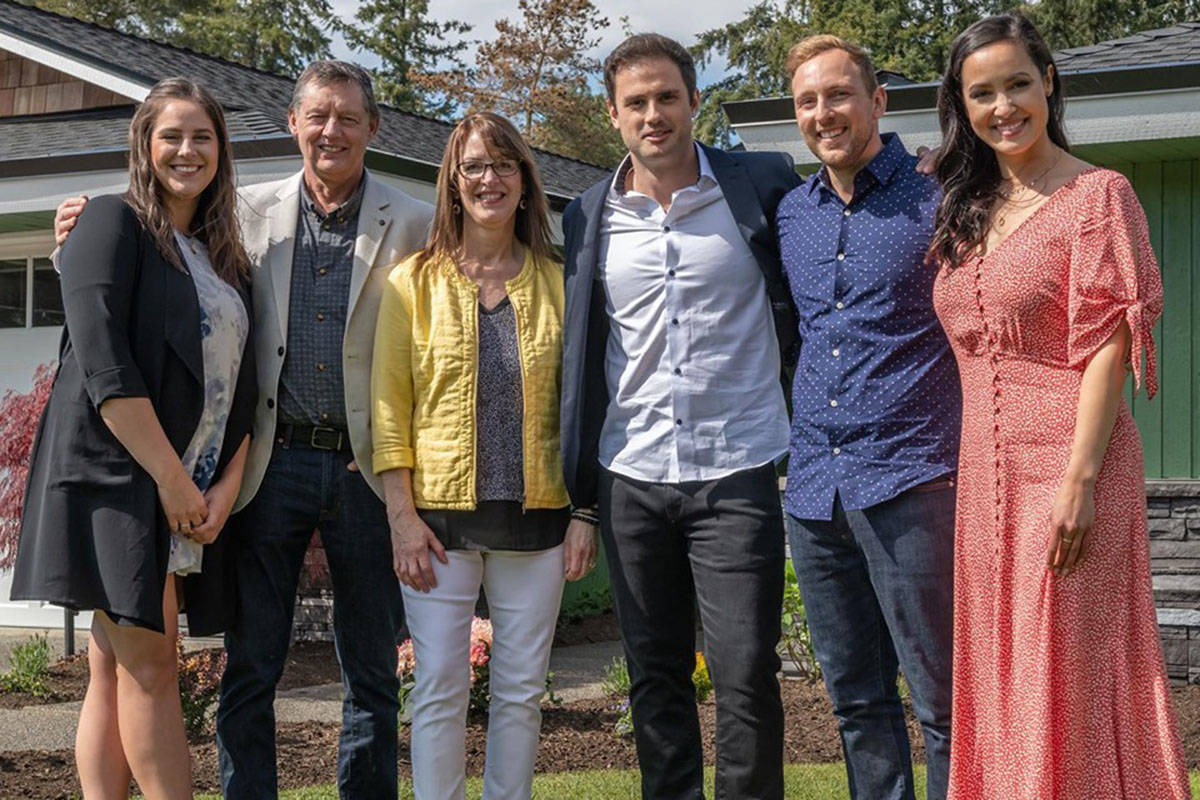 Langley couple Leif and Penny Sogaard had their home completely renovated by HGTV's Worst to First reality series this past spring. (Mickey Fabbiano/Special to the Langley Advance Times).