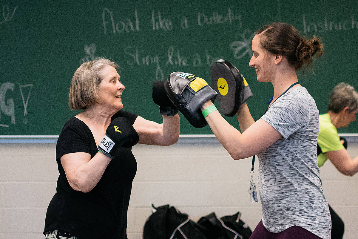 Langley retreat focuses on exercise for people living with