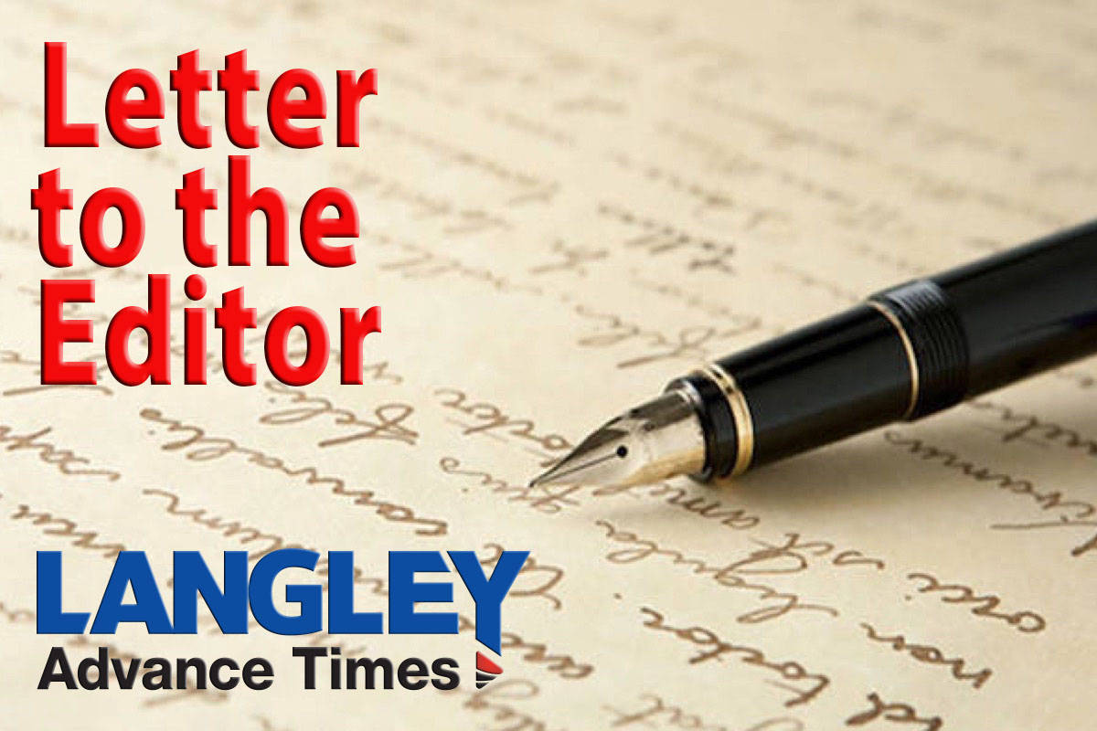 LETTER: Fort Langley signage proposal about more than Kwantlen linguistic heritage