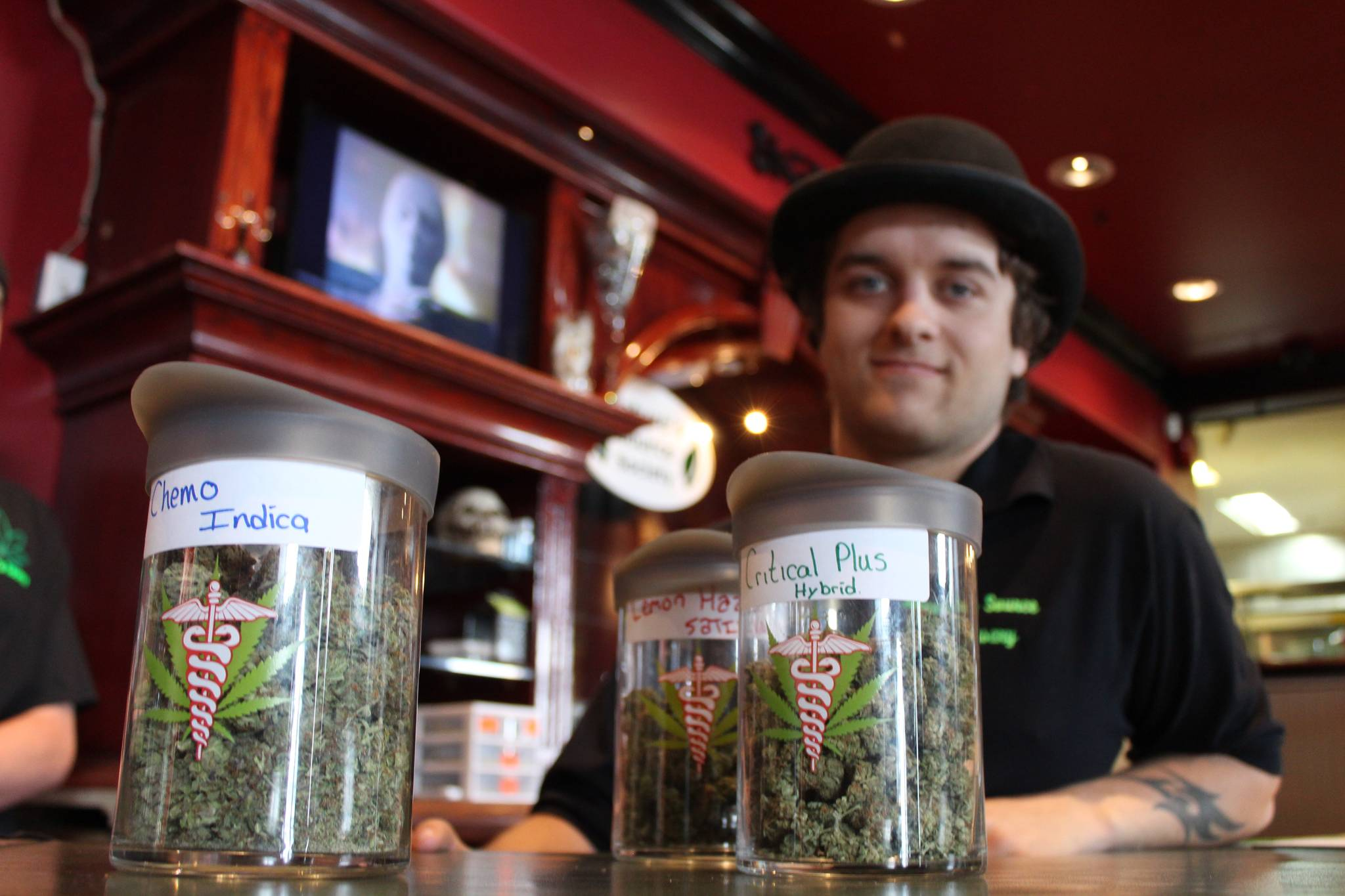 """The Globe in Nanaimo has been a """"cannabis friendly"""" establishment since 2015 when it opened as an illicit dispensary and compassion club. (John McKinley file photo)"""