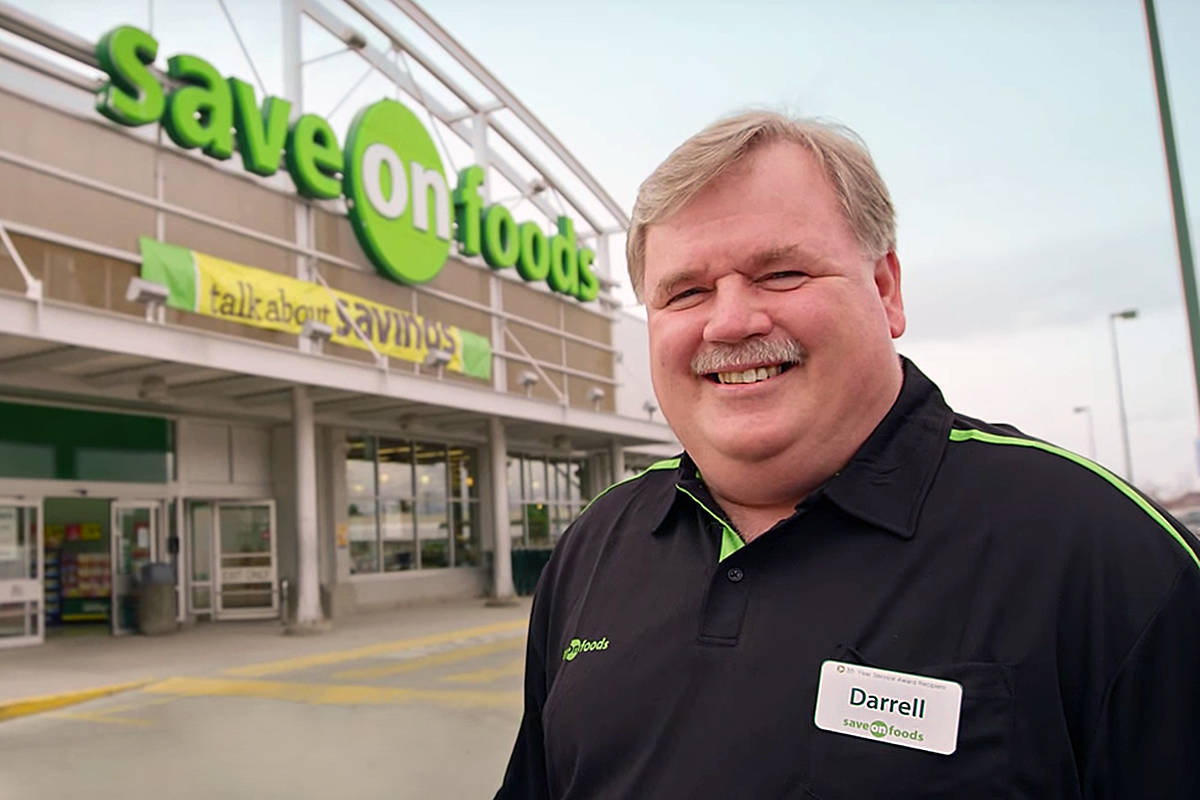Save-On-Foods president Darrell Jones. (Special to the Langley Advance Times)